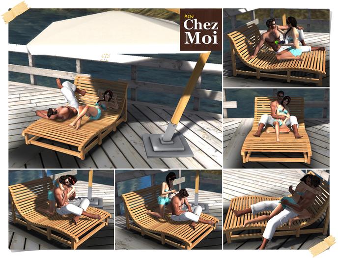 Lounge Couple & Umbrella Day Spa ♥ CHEZ MOI