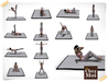 Yoga mat poses day spa