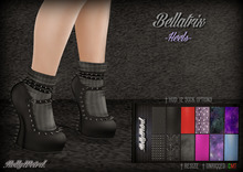 .HW. Bellatrix - Heels (wear)