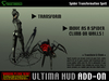 *Ultima HUD ADD-ON*  Spider Transformation Spell