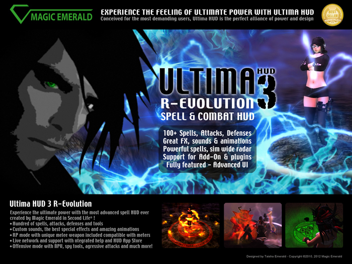 [SALE -20%] Ultima HUD 3 R-Evolution - Spell & Combat HUD