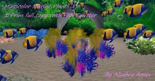 Fantasy Marine Plant with Fishes 2