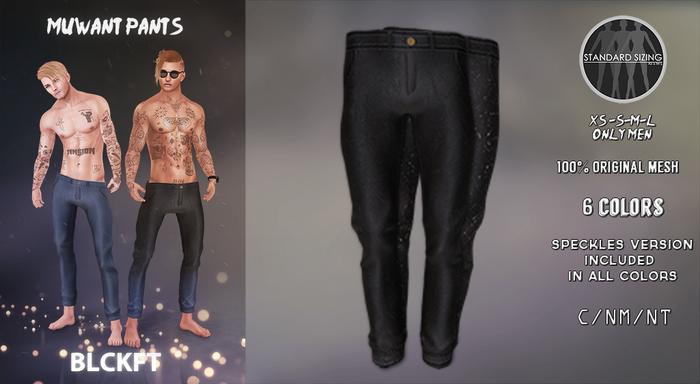 BLCKFT - Muwant pants Black