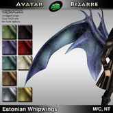 AB Estonian Whipwing Dragon Wings with Color HUD