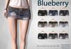 Blueberry letia ripped denim skirts2