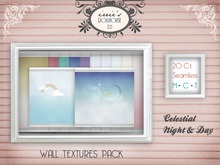 i { DH } Wall Textures *Celestial Night & Day*