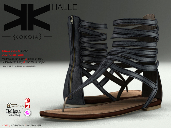 Halle :: Woman :: Black :: {kokoia}