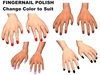 Xst makeupkit2 fingernails