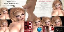 Elite Skins*.Angelica Skin Caramela EVE Pulpy and Slim v8.2 and v8.4