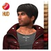 """edeLsToRe man mesh hair """" Josh """" all colors incl HUD (Special Rigged Fitted Mesh Hair)"""