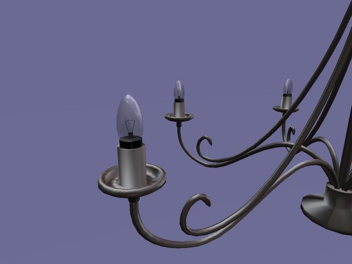 "chandelier ""Orient"" 2 prims.100% mesh"