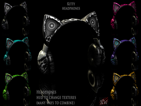 ! [NW] Kitty Headphones