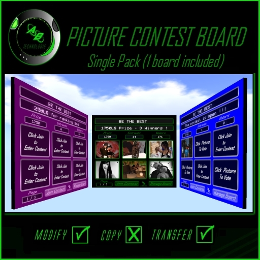 ABTech - Picture Contest Board (Single Pack)