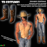 *TD* Cowboy Halloween Costume