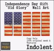 [INDO] Old Glory Art Panel - 1LI Gift