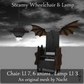 Steamy Wheelchair set