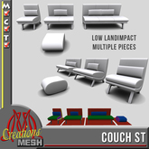 Couch ST FULL PERM MESH sofa and chair