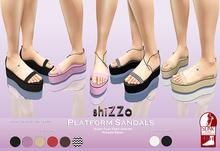 [ShiZZo] - Platform Sandals *Slink*