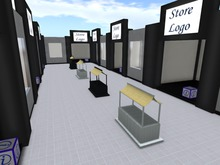 Strip Mall and Rental box