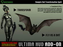 *Ultima HUD ADD-ON*  Vampire Bat Transformation Spell