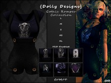 {DD} Gothic Romper Collection