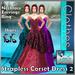 **((S.A))** Strapless Corset Dress 2 for TMP, Maitreya, Belleza