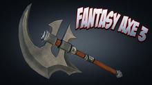 Fantasy Axe #3