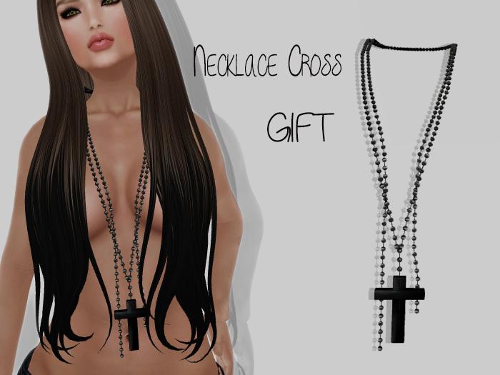 -LpOca- Necklace Cross Gift!!