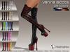 :)(: Vanina Platform Boots - All Colors-Classic Avatars / MESH BODY : EVE - Maitreya - Slink - TMP - WowMeh