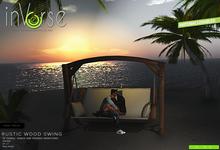 inVerse® MESH - Wood Swing - couple, single, friends animations