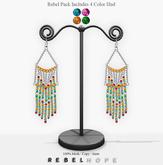 !Rebel Hope - Mara Mesh Earrings