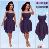 .::f  tiche petite::. Mesh Fairy Dress purple