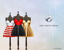 SHEY - Greta Mini Dress ( 40 Textures )