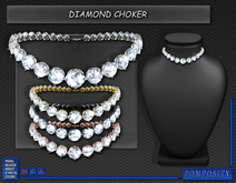 POMPOSITY - Diamond Choker - BOXED