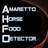 Amaretto Horse Food Detector