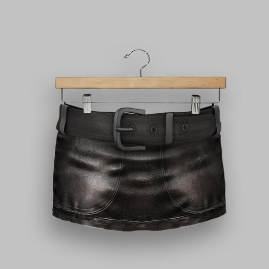 Vinyl - Zeppelin Skirt Pak =Black=