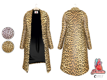 Plastix : Leopard Fur Coat +HUD