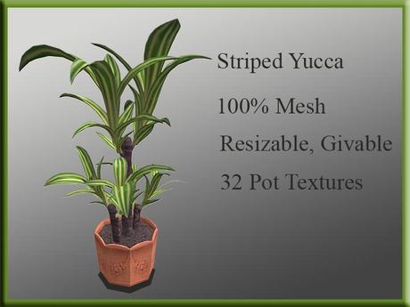 !MM! Mesh Plant 2015 Yucca Yellow