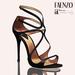 Faenzo Doux Strappy Sandals - Onyx