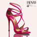 Faenzo Doux Strappy Sandals - Pink