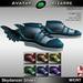 Ab skydancer shoes with color hud