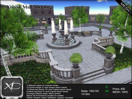 Ximaye Shoping Mall 1/4 Sim (BOX)