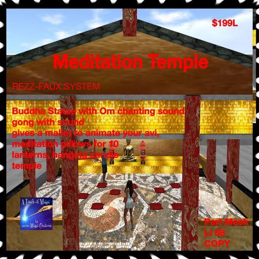Meditation Temple (crate)