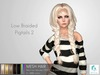 rezology Low Braided Pigtails 2 (RIGGED mesh hair) NS - 1812 complexity