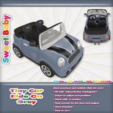 Sweet Baby - Tiny Car Ride On - Grey