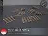 [DD] - FULL PERM  Wood Pathway 2