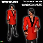 *TD* Hugh Hefner Halloween Costume