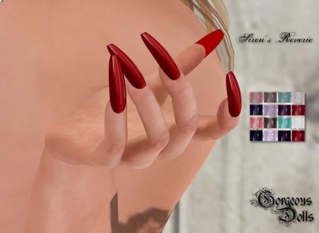 ~GD~Siren's Reverie - Slink Casual Mesh Hands