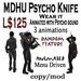 MDHU Psycho Knife box - animated