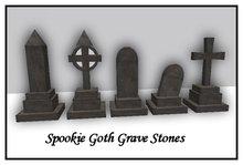 Goth Gravestones